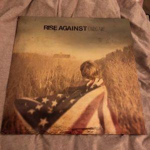Rise against vinyl record